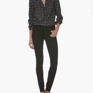 New Paige Verdugo Ultra Skinny Black Jeans Size 27